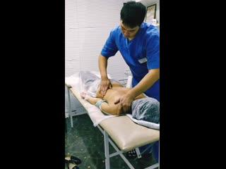 Лечебный массаж при боли в шее и спине