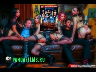 Большие Зубки Горячих Цыпочек 2 с участием Mia Malkova, Janice Griffith, Riley Reid, Jessica Jayme \ Hot Chicks Big Fangs 2
