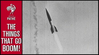 Secret German V-2 Film Discovered (1946) | British Pathé