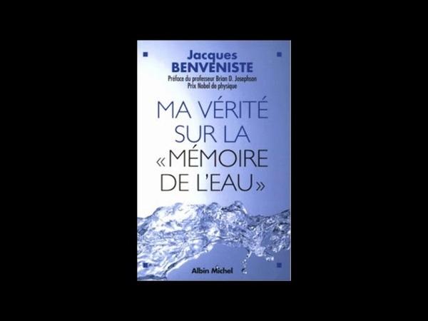 La mémoire de l'eau avec Jérôme Benveniste et le Pr Brian D Josephson