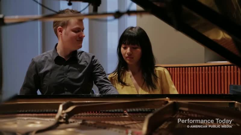 Anderson Roe Piano Duo Papageno from The Magic Flute on Performance Today