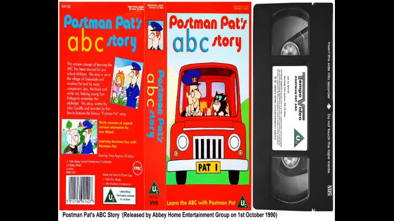 Postman Pat's ABC and 123 - Read Along with Postman Pat