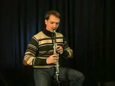 Ivan Stolbov Presents A Clarinet Warmup Exercise