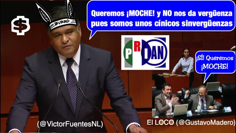 ⎮🇲🇽 CORRUPTO PANI$TA PIDE MOCHE EN EL $ENADO