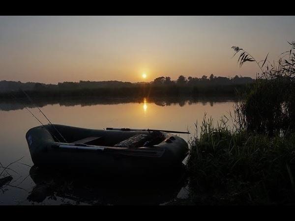 Рыбалка с приключениями в г Семикаракорск Ловля с лодки на яйца и фидер Адриналин зашкаливал