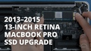 How to Upgrade the SSD into a 13-inch MacBook Pro with Retina display (Mid 2013 – Mid 2015)