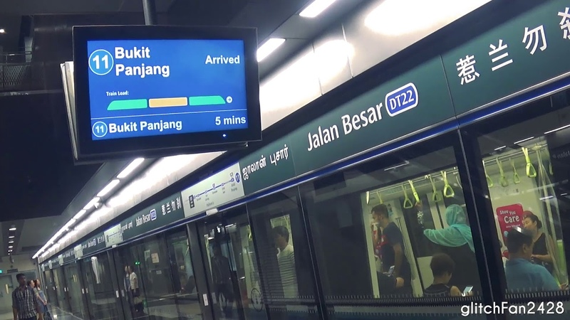 LTA's New Passenger Load Information System on The Downtown Line 2018