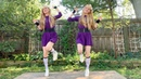 Linus and Lucy from PEANUTS Harp Twins Camille and Kennerly