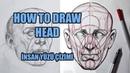 How to Draw Head Reilly Method İNSAN BAŞI ÇİZİM