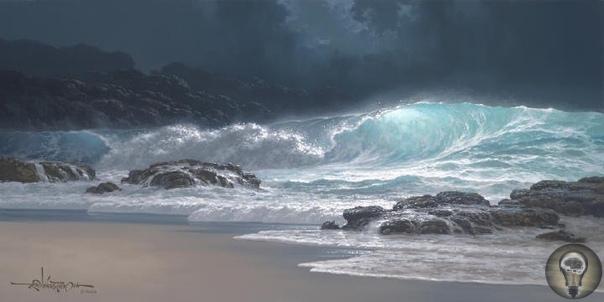oy Tabora. Морские пейзажи. Рой Табора, гавайский художник, родился в семье художников 18 июня 1956 года, продолжает наследие многих поколений художников, из которых состоит его генеалогическое
