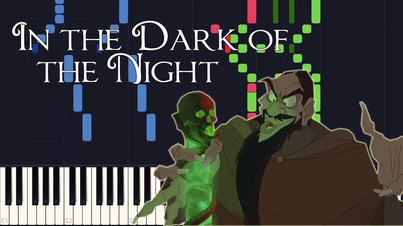 Synthesia - In the Dark of the Night (Anastasia) [PIANO TUTORIAL SHEET MUSIC]