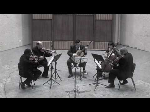 Leo Brouwer Quinteto para guitarra y cuarteto de cuerdas Allegro
