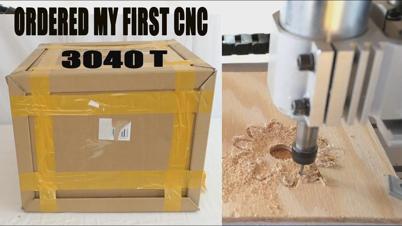 Распаковка и сборка станка CNC 3040