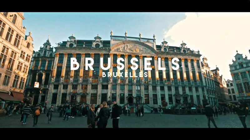 Brussels Bruxelles 4K Welcome to Europe