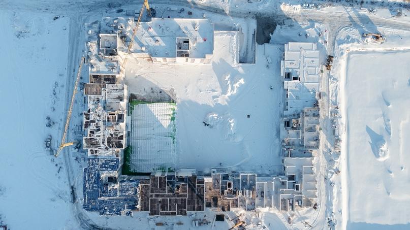 Отчет о ходе строительства, ЖК «Ожогино» январь 2020, изображение №1