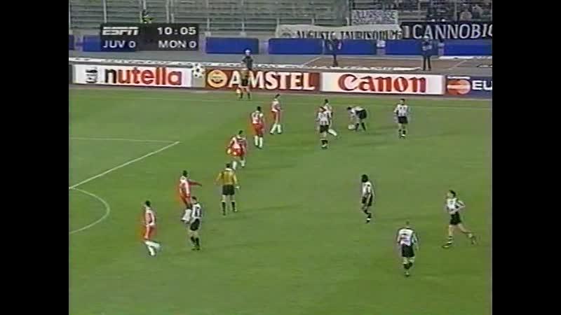 1997-98, Полуфинал, Ювентус - Монако