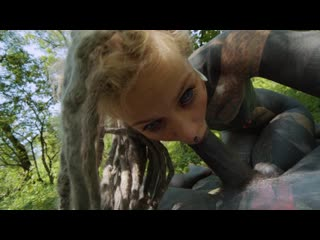 Anuskatzz forest fuck outdoor rough pussy sex, fetish, torture, sadism, pain, bitch, whore, slave, teen, gape, anal sex solo