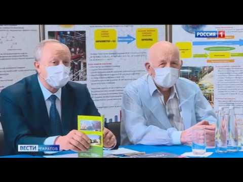 Валерий Радаев посетил лаборатории компании Биоамид