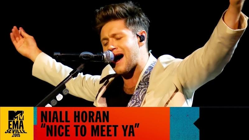 Niall Horan - Nice To Meet Ya Live | MTV EMA 2019
