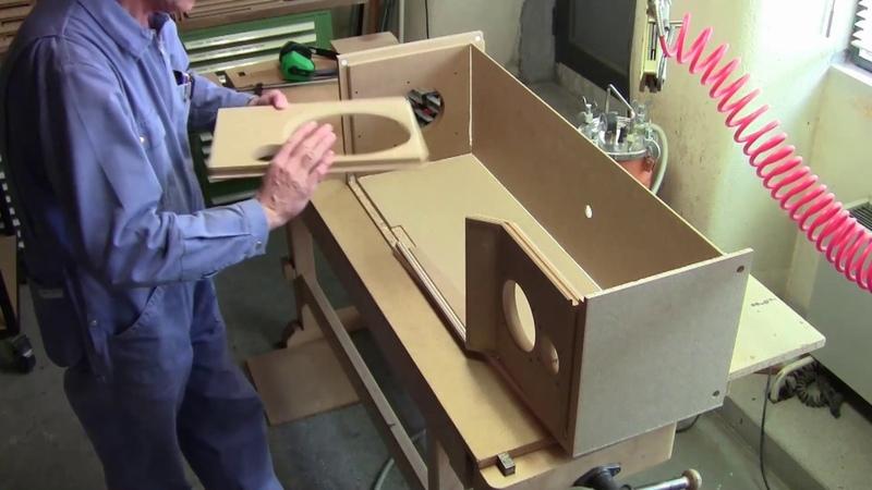 Fabrication d'une enceinte acoustique Jean Maurer