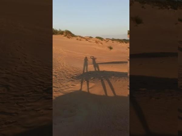Пляж Джемете танцующие человечки