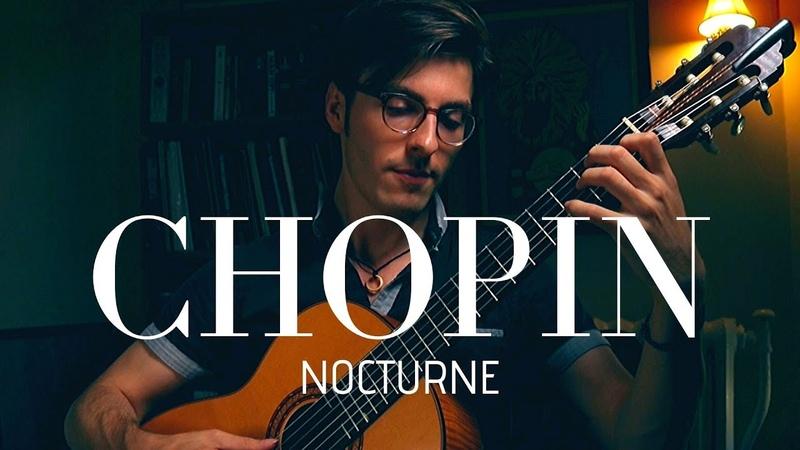Brandon J Acker Chopin Nocturne On Guitar 2018