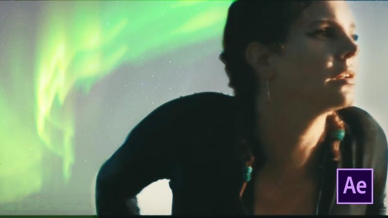 Разбор Lana Del Rey - Norman Fucking Rockwell ! Северное сияние в Adobe After Effects