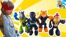 Бибоп, Рокстеди, Тигриный Коготь и Ниндзя из Клана Фут! Лука Босс распаковывает игрушки!