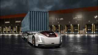 Автономный тягач  VOLVO VERA на электротяге от Volvo Trucks /Комтранс #часть3