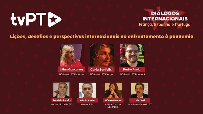 AO VIVO Diálogos internacionais França Espanha e Portugal TV PT