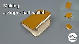 40. Zipper half wallet / Free Pattern (지퍼 반 지갑)
