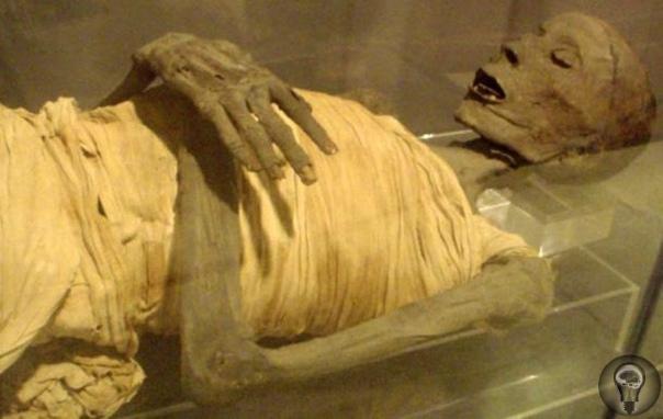 Медицинская загадка металлический штифт современного типа в ноге мумии В 1971 году в музей Розенкрейца, расположенный в городе Сан-Хосе в Калифорнии, привезли запечатанный древнеегипетский гроб,