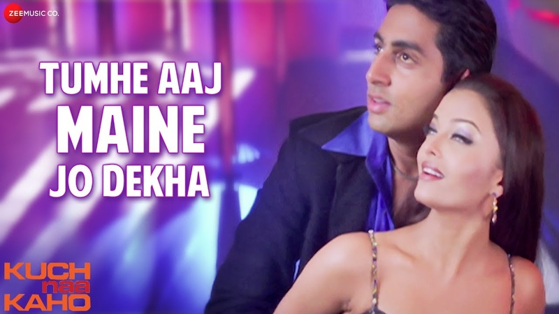Tumhe Aaj Maine Jo Dekha Full Video Kuch Naa Kaho Abhishek Bachchan Aishwarya Rai Bachchan