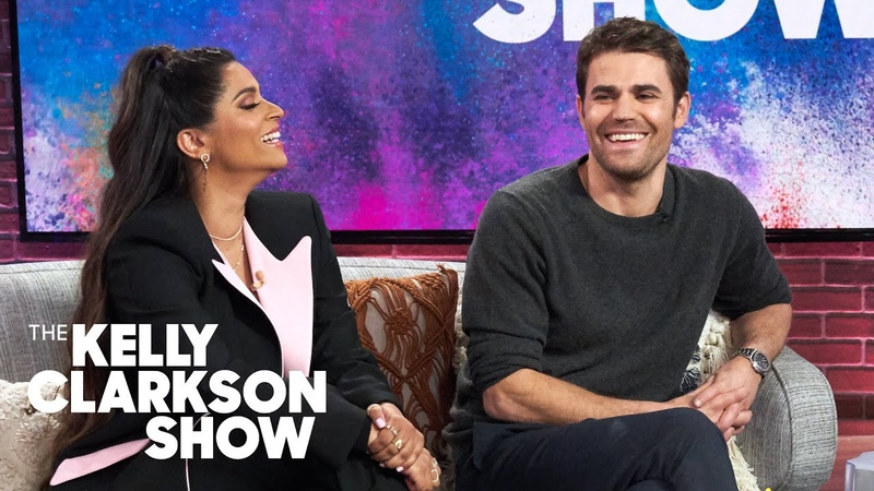 Kelly Fangirls Over Paul Wesley 'Vampires Are Always Sexy' Sneak Peek