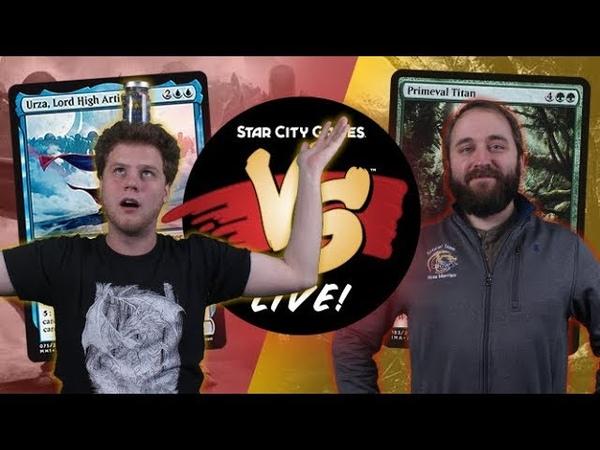 VS Live! | Urza Midrange VS Amulet Titan | Modern | Match 1