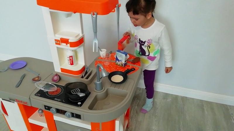 Детская кухня Tefal Studio XL от французского бренда Smoby