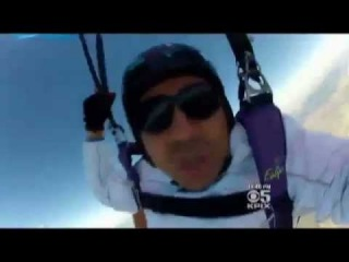 Американец упал с высоты 4 км  Gerardo Flores American lucky