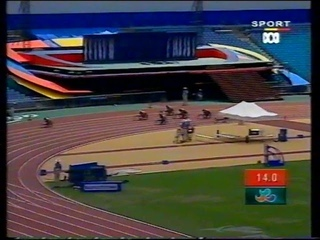 Sydney 2000 Paralympic Games - Womens T34 200m Final