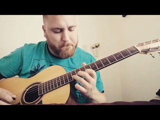 Improvisation on my Gypsy song #guitar #fingerstyle #jazz #Manouche #improvise #gypsyjazz #soloing