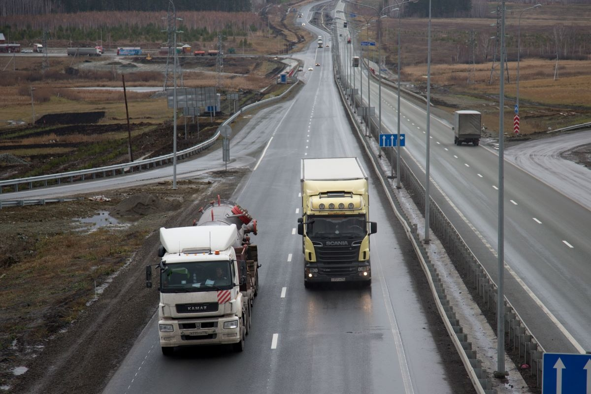 Сегодня ночью на М-5 «Урал» в районе Миасса движение будет закрыто