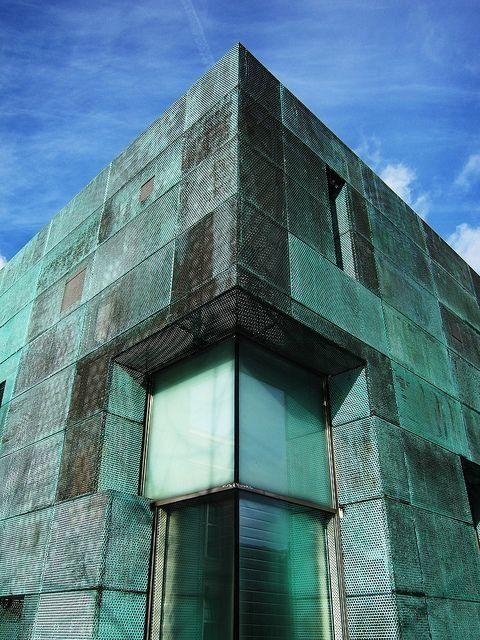 Патинированная(окислившаяся) медь в архитектуре