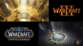 Battle for Lordaeron Cinematic VS. Warcraft 3 Arthas Cinematic