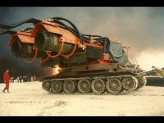 Мегамашины. Самая мощная пожарная машина в мире