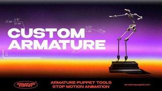 Индивидуальный скелет для Стоп Моушен анимации
