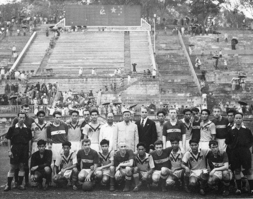 1960 год. Спартаковцы в Китае