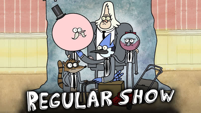 Regular Show I only watch it for the Plot