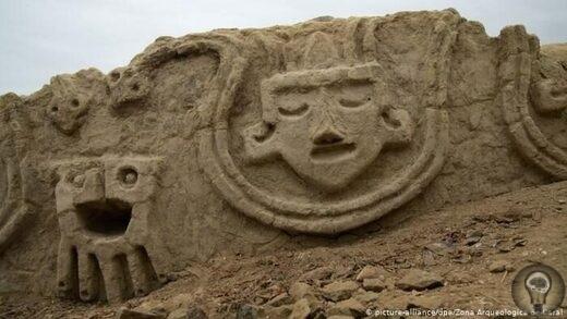В Перу обнаружены каменные барельефы возрастом 3800 лет, символизирующие голод, вызванный изменением климата