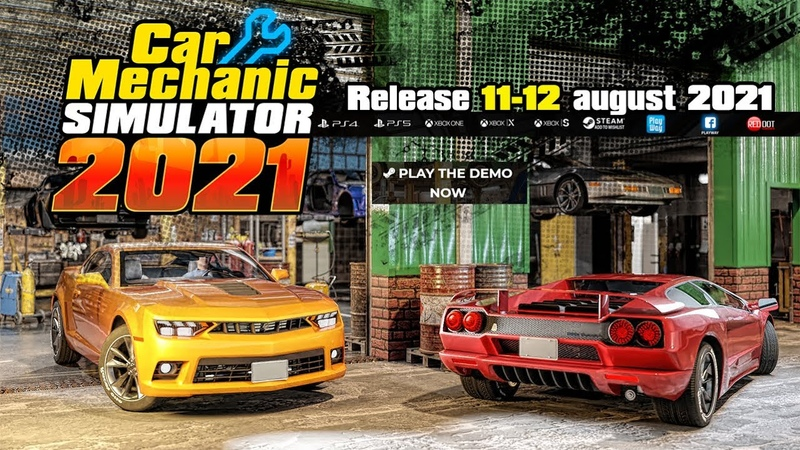 Car Mechanic Simulator 2021 Releasing on 11th 12th August 2021 on PC Consoles
