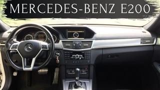 Отличная альтернатива Камри / Mercedes-Benz E200 W212 2011