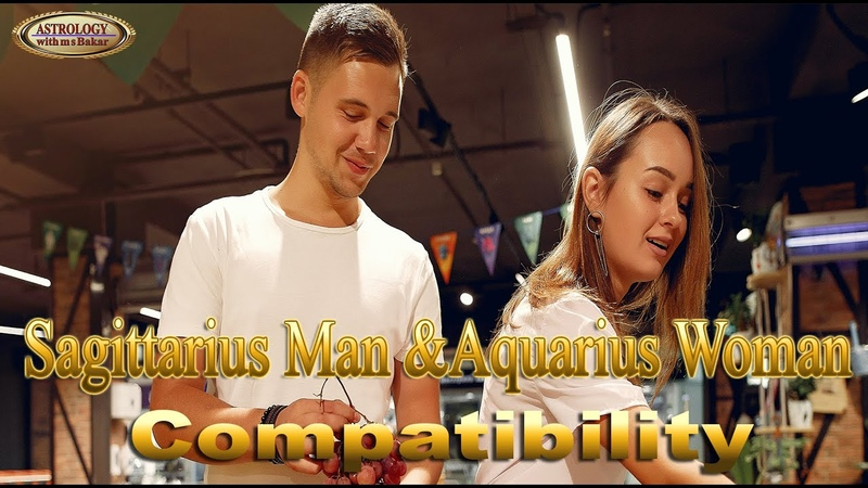 Sagittarius Man And Aquarius Woman Compatibility By Astrologer Astrolger M S Bakar Urdu Hindi